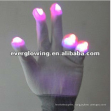 glowing party gloves