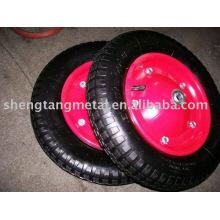 roue gonflable en caoutchouc 3.50-7