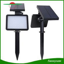 48 светодиодов Водонепроницаемая солнечная батарея Светильники для наружного освещения Солнечный светильник для сада