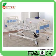 Cama de hospital elétrica de três funções de alta qualidade