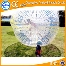 Colorful ropes inside good quality inflatable zorb ball / human sized hamster ball rental