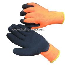 Greifer Impact Glovesthermal Latex beschichtete Handschuhe Safety Work Handschuh
