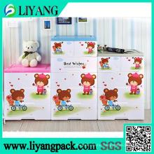 Cute Bear Design, Heat Transfer Film for Sorting Box