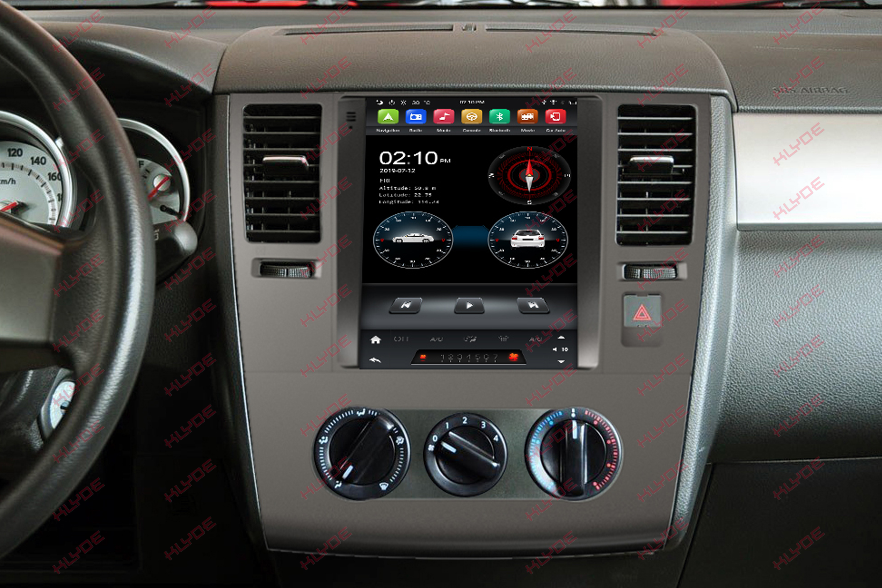 car stereo for TIIDA 2008-2011