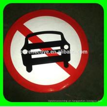 Sinais de tráfego rodoviário refletor de alta intensidade aluminosos para segurança rodoviária