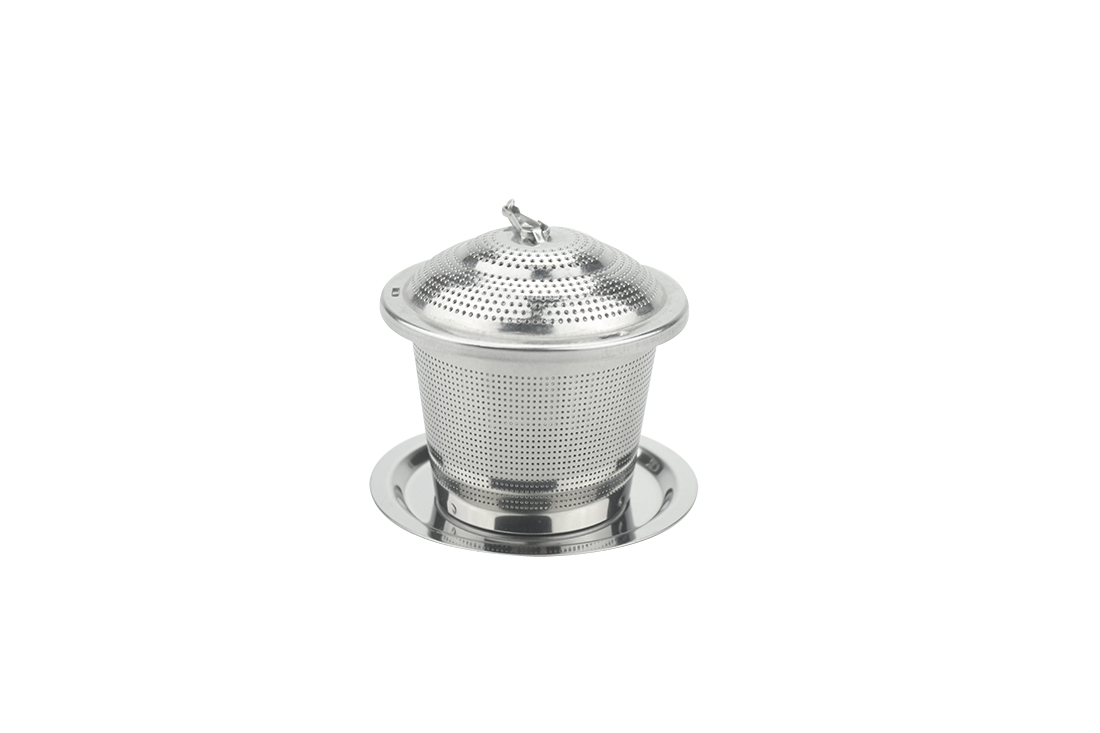 Stainless Steel Drip Tray Tea Infuser