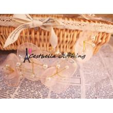 Acessórios de casamento Rose Flower Headband Bridal Hair Wreath