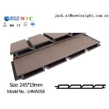 Painel composto plástico de madeira de 245 * de 20mm WPC