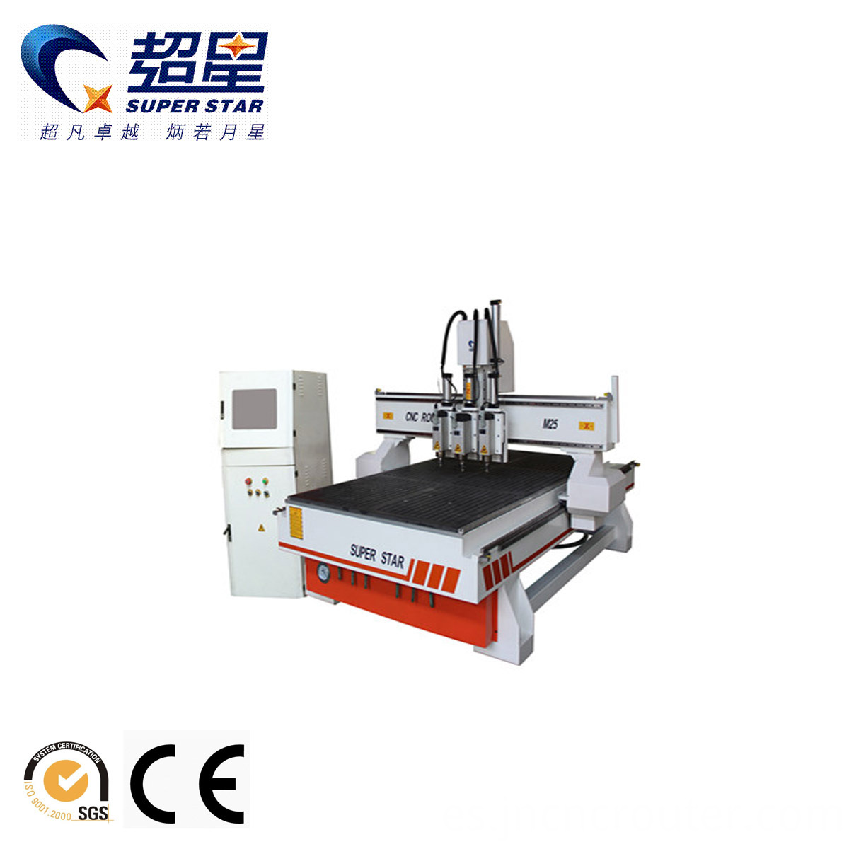 cnc wood machinery