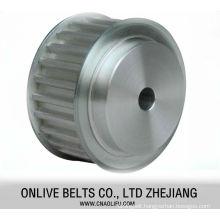 Power transmission industrial timing belt pulley for dc motor