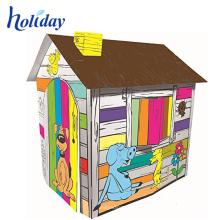 промо-обучить детей ткани домик для детей
