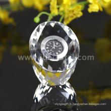 Verre Crystal Cut Faces Transparent Vaisselle