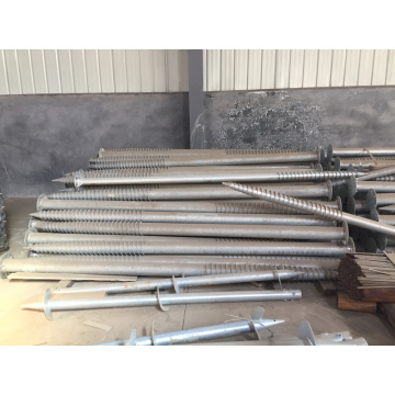 Solar Ground Screw Pile