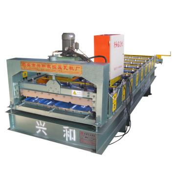 Máquina formadora de telha de aço colorida para telhado / parede