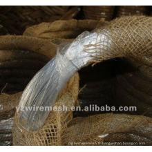Fabrication de fil d'acier galvanisé à 12 galges