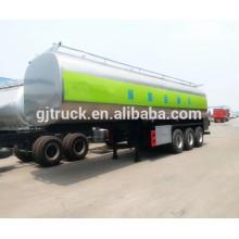 Camión de la leche 20000l / remolque inoxidable del tanque del transporte de la leche / remolque del tanque del transporte de la leche / remolque del tanque de la leche