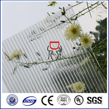 PC transparente Polycarbonat-Hohlfolie mit UV-Schutz