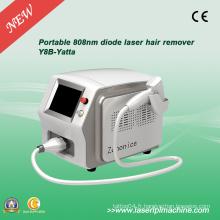 Machine de remous à cheveux laser à diodes 808nm portable avec barre allemande