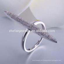 Venda quente italiano 925 anéis de prata esterlina