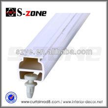 SC06 Thin PVC plastic durable hospital curtain track