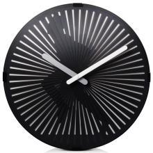 Round Running Moving Wall Clock