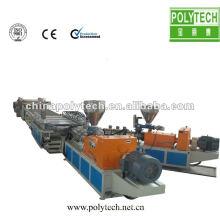 WPC Decorative Foamed Board Extrusion Line/Machine