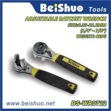 """1/4 """"- 7/8"""" Ajustável Ratchet Socket Wrench de ferramentas de reparo"""