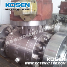 3 Pieces Forged Steel Ball Valves (2500LB)