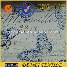 tissu personnalisé imprimé, personnalisé coton rembourrage canapé