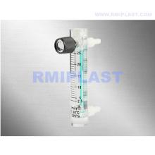 Débitmètre d'oxygène avec vanne de régulation