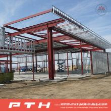 CER BV genehmigte heiße Verkaufs-Stahlstruktur für Werkstatt