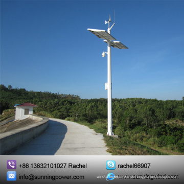 Permanent-Magnet Wind Turbine 400W kleinen Windgenerator Monitoring-System (MINI 400W)