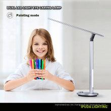 Los niños de la lámpara de mesa modelo del diseño de la fábrica de China nuevo estudian la lámpara de mesa de la aleación de aluminio de las lámparas