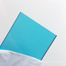 Твердый лист поликарбоната Aojielong 8мм синий поликарбонат