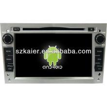 4.2 version Android System lecteur dvd de voiture pour Opel Astra avec GPS, Bluetooth, 3G, ipod, jeux, double zone, contrôle du volant
