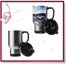14oz Silver Stainless Steel-Full Sublimation Mugs by Mejorsub