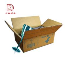Tipos diferentes caixa de papel barato do eco reciclável fábrica de correio