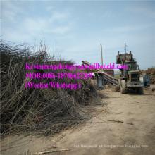 Máquina de la trituradora de la rama del precio de la trituradora del tocón del triturador de madera del motor diesel hecha en China