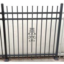 Security Powder Coated Wrought Iron Pool Fence