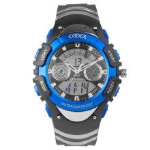 Quartz Digital Sport Watch com RoHS