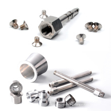 Custom CNC Machining Aluminum Parts Mini Precision Brass Aluminum Stainless Steel Turning Parts Service CNC Machining
