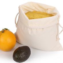 Eco Friendly Cheap Custom Printing Organic Cotton fabric Drawstring Storage Bag For Christma Gift