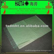 light blue silk muslim shwal HTC168-18