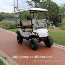 carrito de golf eléctrico de un solo asiento para el precio de venta
