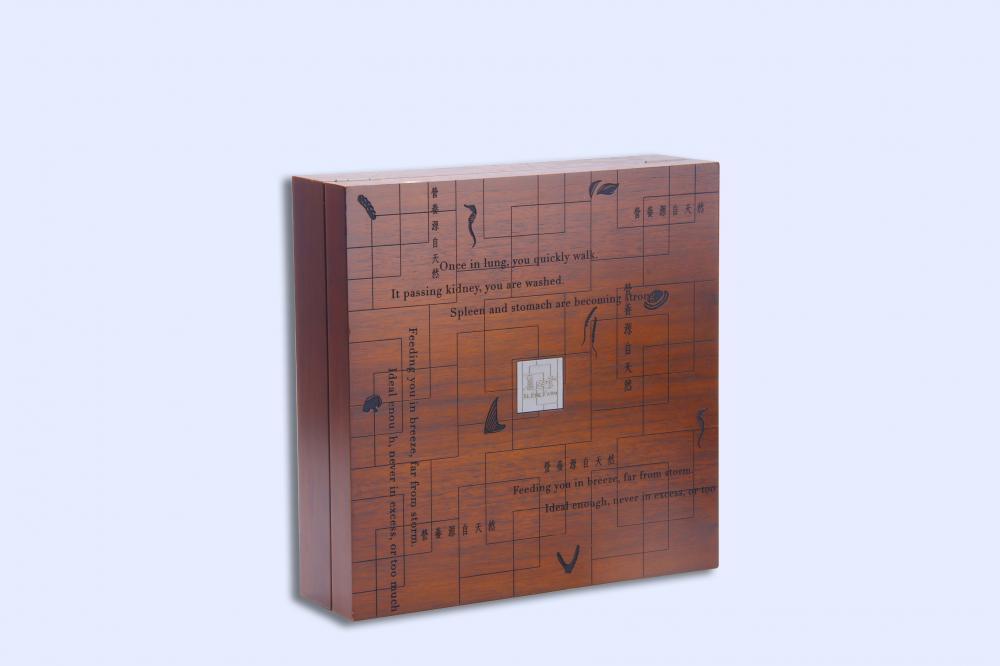 Custom Wood Storage Box