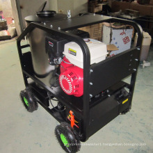 trailer mounted easy clean hot water pressure washer for caravan cleaning