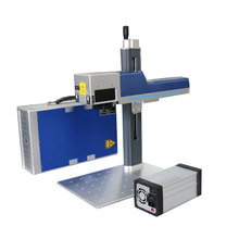 Machine de marquage laser à fibre Mopa à gravure profonde