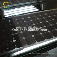 Sistema de panel solar de células fotovoltaicas de silicio cristalino IEC61215 monocristalino
