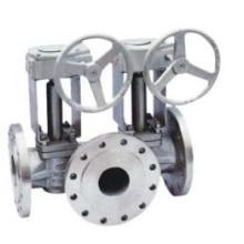 Válvula de ligação com descarga simples ou dupla