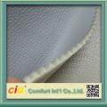 cuero liso de la PU unido con espuma de 3 mm para el mercado de Rusia